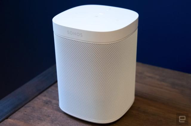Sonos One speaker now packs more powerful internals