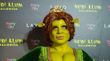 Heidi Klum y novio se transforman en 'Shrek'