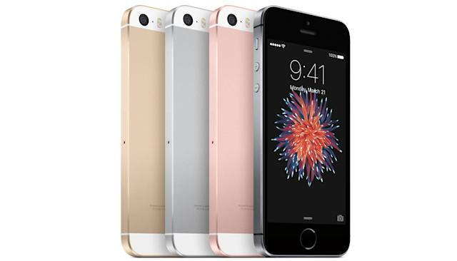 Apple's 4-inch iPhone SE starts at $399, arrives next week