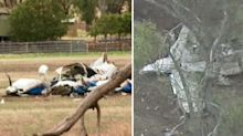 Four people dead after two planes collide mid-air in Victoria
