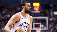 Raptors center Marc Gasol leaves game against Pistons with hamstring strain