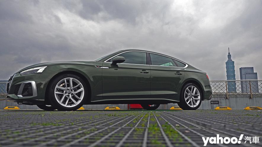 捉艷疾走!2021 Audi A5 Sportback 40 TFSI S line小改款試駕 - 4