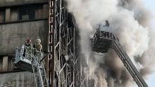 At least 20 firefighters killed in Tehran building collapse