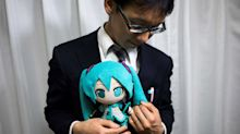Japanese Groom Spends $18,000 To Get Married To A Hologram
