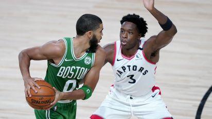 Celtics send clear message with rout of Raptors