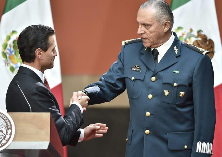 Cienfuegos was a key figure in ex-president Enrique Pena Nieto's 2012-2018 government