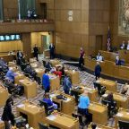 Oregon lawmakers expel legislator who helped far-right protesters breach state Capitol