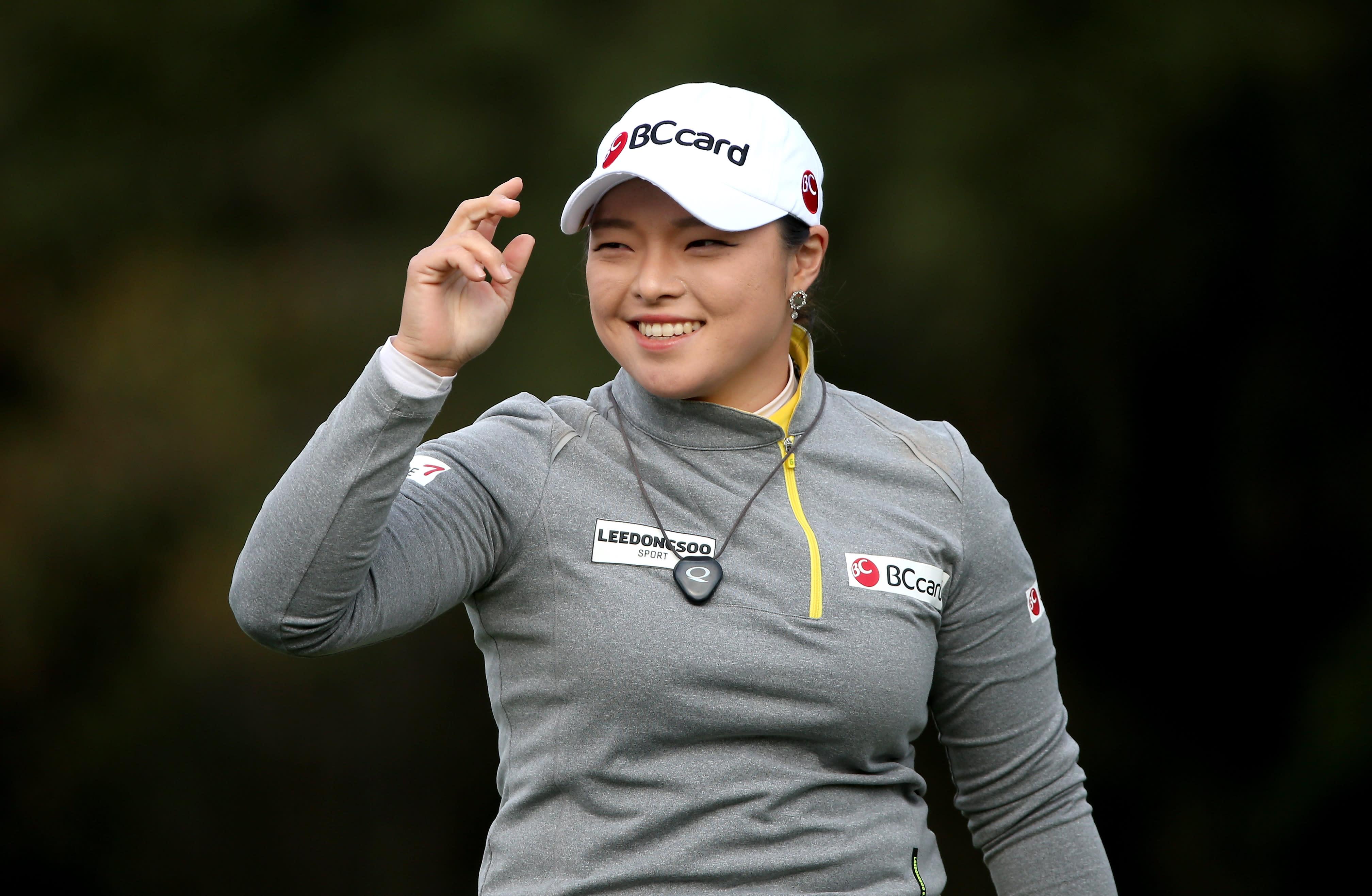 Jang goes from qualifier to leader at LPGA season opener
