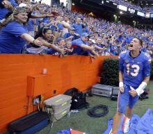 July video shows Florida's Feleipe Franks, Tyrie Cleveland practicing deep ball similar to game-winner