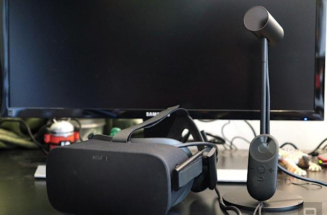 Oculus update preps Rift for room-scale VR, motion controls