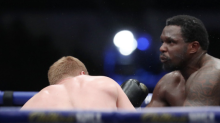 Dillian Whyte knocked out cold by Alexander Povetkin in stunning upset defeat at Fight Camp