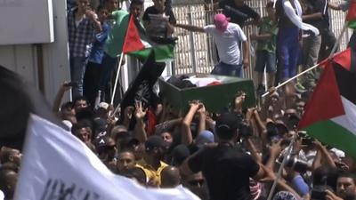 Raw: Clashes Follow Palestinian Teen's Funeral