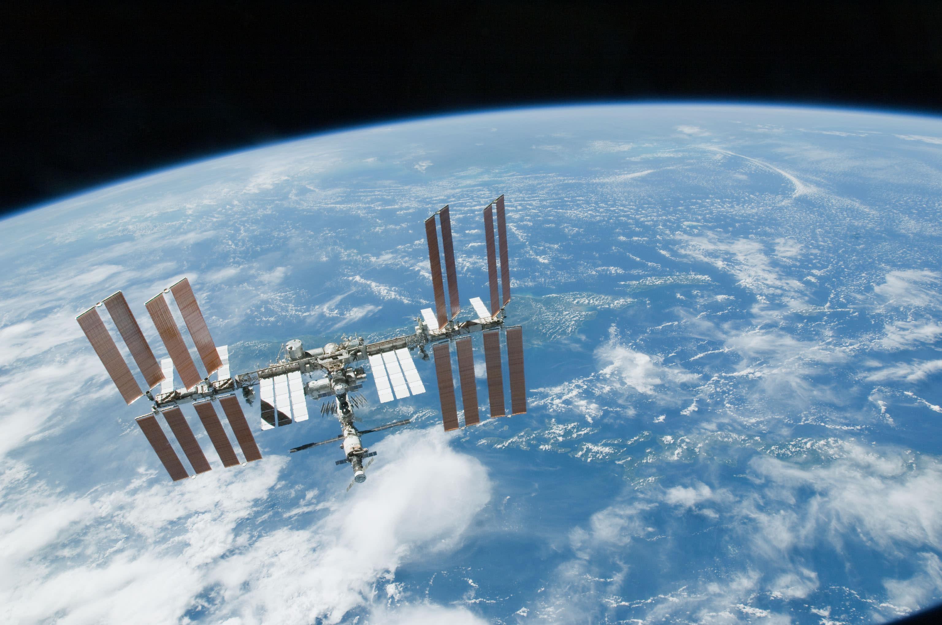 international space station nasa - HD3072×2039