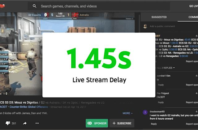 YouTube improves stream performance and simplifies live chats