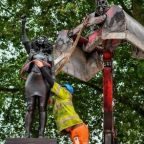 Sculpture of Black Lives Matter protester Jen Reid removed from Colston plinth
