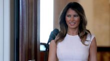 Melania Trump Gives First Speech of the Year