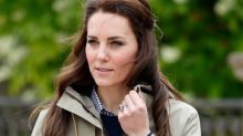 Kate Middleton Walks Outside of Kensington Palace, Shocks Bystanders