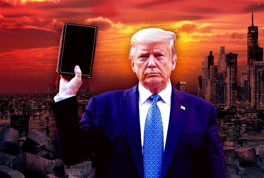 """Fulfillment of prophecy? Yes, some evangelicals really do believe Trump is  the """"chosen one"""""""