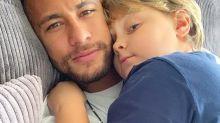 Neymar paga R$ 80 mil de pensão para David Lucca, diz TV