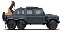 """Este Land Rover Defender de seis ruedas es la última """"promesa"""" de Kahn Design"""