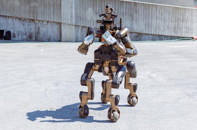 Centauro is a disaster-response robot that looks like a horse