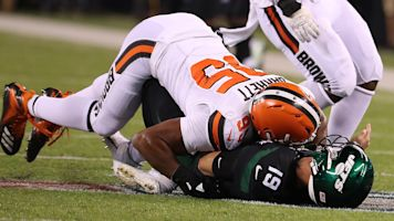 Follow live: Browns beating injury-riddled Jets
