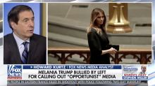 Fox News host: 'No other modern first lady has been treated' as badly as Melania Trump. The internet begs to differ.