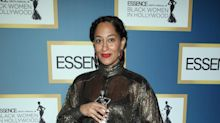 Tracee Ellis Ross Got Dressed in the Car for the Essence Black Women in Hollywood Awards