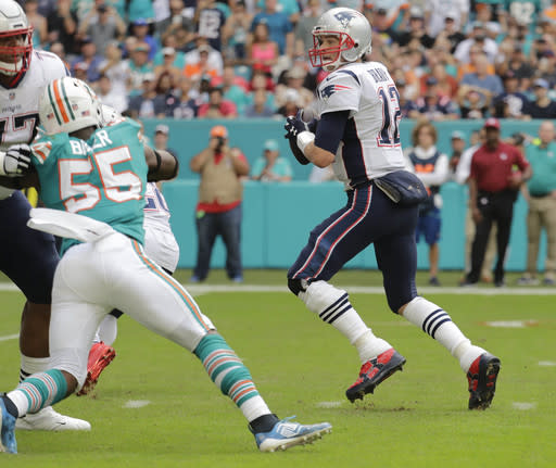 Patriots rue missed chances after stunning loss to Dolphins