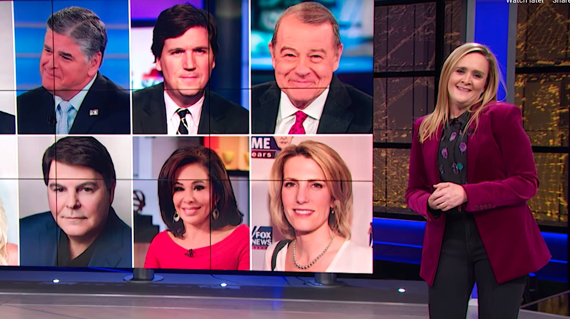 Sam Bee Gives Blistering Review Of Fox News' New Streaming