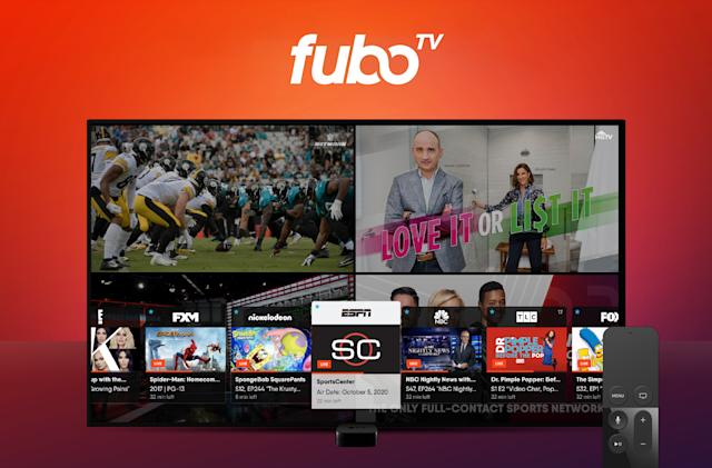 FuboTV now lets 竞彩足球app官方版 TV users watch four channels at once