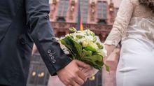 Liebe in Zeiten von Corona: Einige Paare trauen sich dennoch