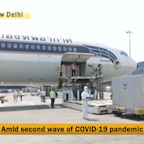 Thailand flight carrying medical supplies arrives in Delhi