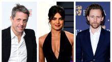 Hugh Grant, Priyanka Chopra Jonas and Tom Hiddleston among Bafta presenters