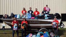 Brunswick Corporation : Lund and Crestliner Boats partner on Stuff the Bus campaign to help students get back to school