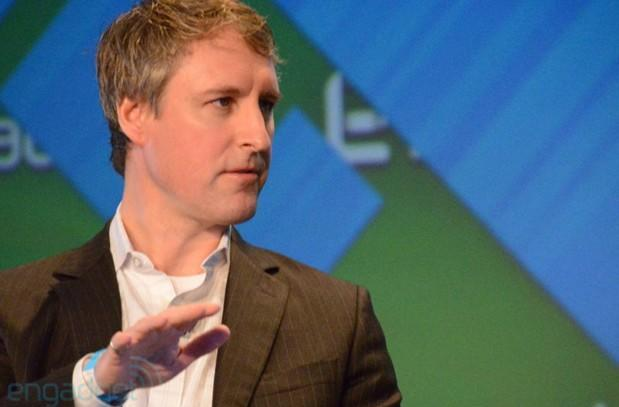 Microsoft's Bob Heddle backstage at Expand (video)