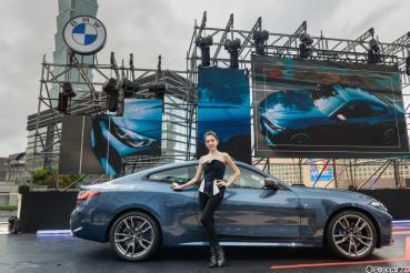 全新世代BMW 4系列雙門跑車 高調登場 品牌大使許瑋甯帥氣同框