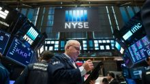 Dow streak of records ends; European banks gain