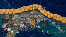 A device invented by a 25-year-old is finally catching trash in the Great Pacific Garbage Patch. It hauled 60 bags to shore to turn into new products.