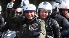 Brazil's Jair Bolsonaro fined for not wearing mask at Sao Paulo bikers' rally