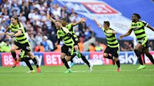 VIDEO: Huddersfield's wild celebrations as they secure promotion to the Premier League