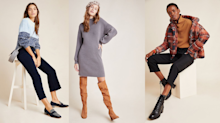 Anthropologie is having a huge winter sale — score an extra 50% off all sale items