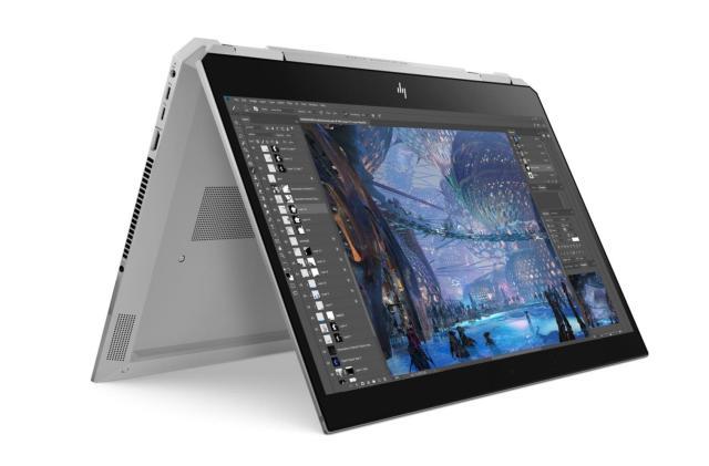HP's convertible ZBook x360 features a six-core Xeon CPU
