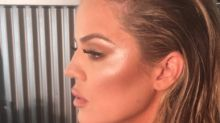 The Secret's Out On Khloe Kardashian's New Look
