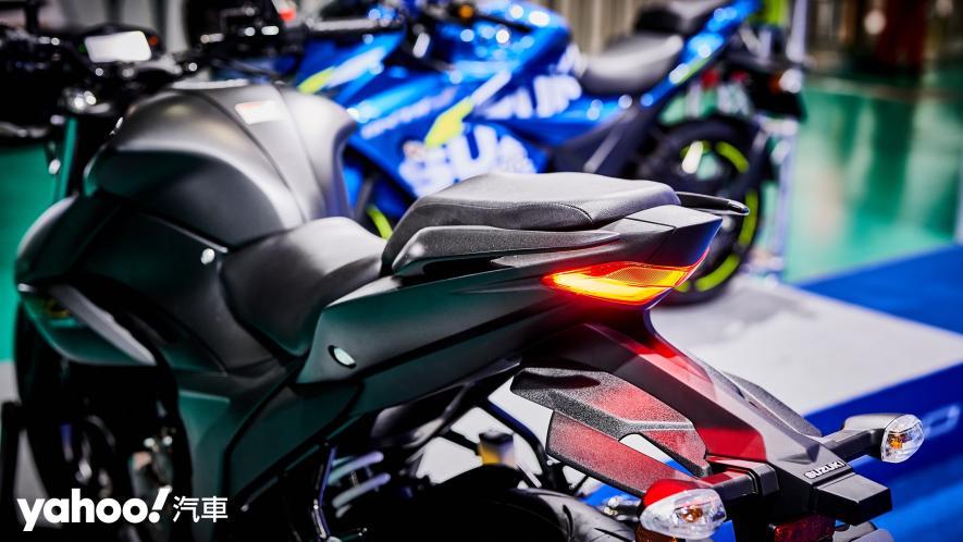 再次見面也依舊心動!2021 Suzuki Gixxer 250、SF 250台北重型機車展賞車! - 12