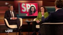 """Talk bei Lanz: """"Wieso gibt es die Lust in der SPD an der Selbstzerfleischung?"""""""