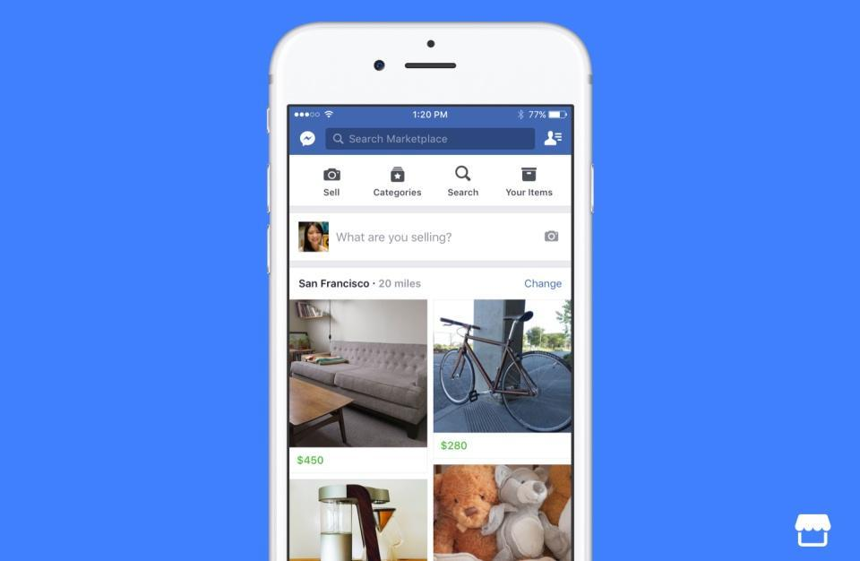 Facebook opens Marketplace to take on eBay and Craigslist | Engadget