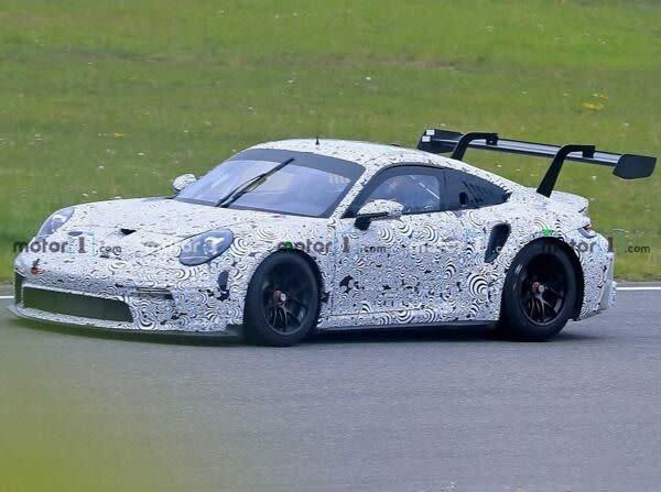 Porsche 911 Gt3 Cup 2021 Erlkonig Auf Dem Nurburgring Erwischt