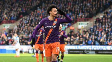 Ton-up Man City keep pressure on Liverpool