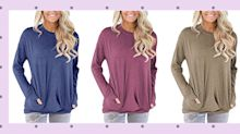 Amazon Canada's bestselling tunic is the wardrobe refresh you need this winter: 'Soft, warm and super comfy!'